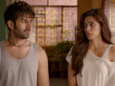 Lukka Chuppi movie review: Kartik Aaryan,Kriti Sanon, Pankaj Tripathi perform well but film doesn't go beyond the obvious