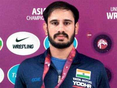 India win 16 medals at Asian Wrestling Championship