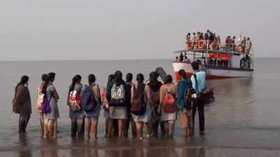 Mumbai: 3 dead as boat with 40 school children capsizes in Dahanu, rescue operations underway