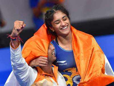 After historic gold, Vinesh gets engaged at airport on return
