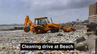 Mumbai: BMC cleans Dadar Chowpatty beach