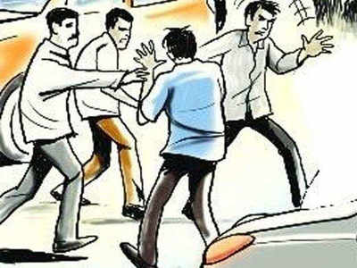 Parcel manager assaulted for asking about his dues
