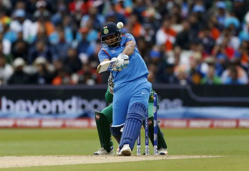 India top the group chart after thrashing Pakistan by 124 runs