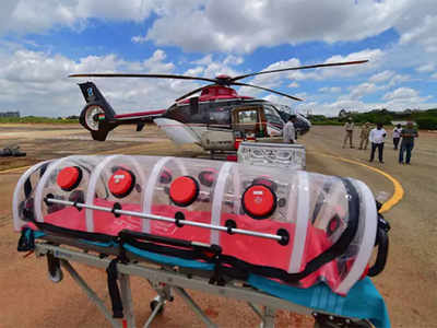 Air ambulances take flight during pandemic