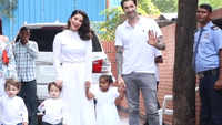 Sunny Leone spotted with family, video will melt your hearts