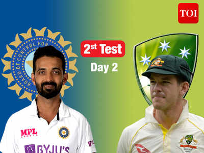 India vs Australia, 2nd Test, Day 2: As it happened