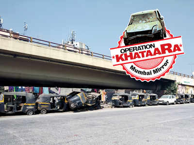 Operation Khataara: More than 20 vehicles lying on the road cause traffic jam along WEH