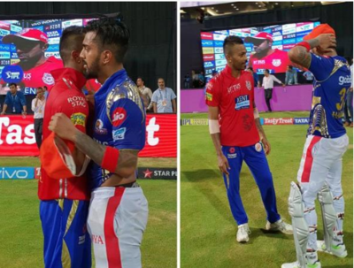 IPL 2018: Twitter reacts after Hardik Pandya, KL Rahul exchange their team jerseys