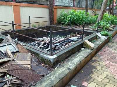 BMC starts repair work of dilapidated rainwater harvesting systems in its schools