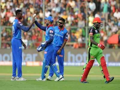 Delhi Capital's Shreyas Iyer, Kagiso Rabada hand Royal Challengers Bangalore their sixth loss in IPL 2019