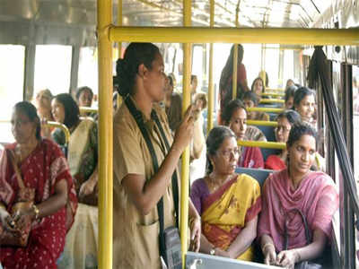 'Catwoman' boards BMTC bus as she was itching to scratch