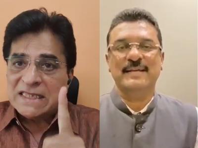 Pratap Sarnaik to file Rs 100 crore defamation case against BJP leader Kirit Somaiya