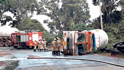 Karnataka: LPG tankers pose clear and present danger on highway