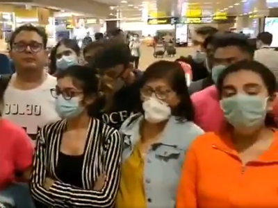 Over 90 Indians stranded at Singapore airport head home