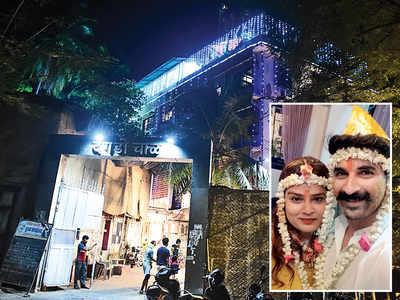 Low-key wedding for Mumbai don Arun Gawli's daughter with actor Akshay Waghmare at Dagdi Chawl