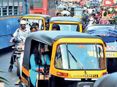 Shivajinagar traffic woes haunt citizens