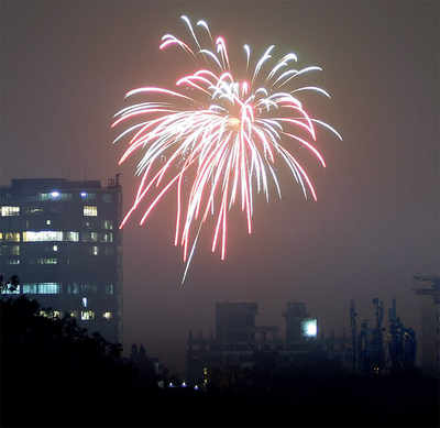 This Deepavali was less noisy, but more polluted