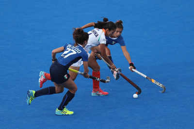 Women's Hockey World Cup: India outclass Italy 3-0 to enter quarters