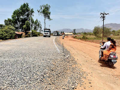 Tamhini turns inaccessible; MSRDC's ill-planned road almost cuts off ghat