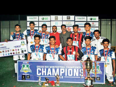 Lancers win 5th Green Box Minifootball Championship
