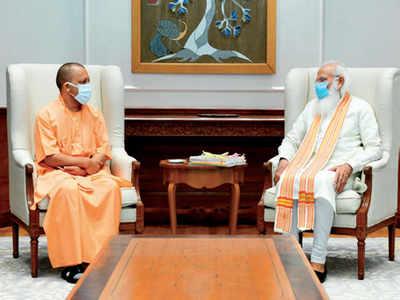 UP politics in the flux: Uttar Pradesh Chief Minister Yogi Adityanath meets Prime Minister Narendra Modi, BJP chief J P Nadda with eye on 2022 polls