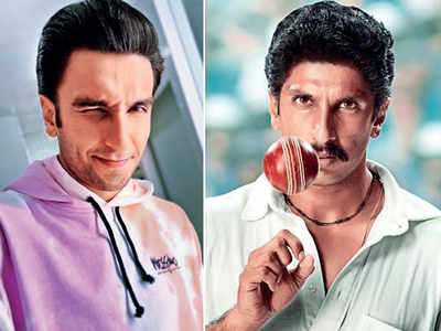 It's a close shave for Ranveer Singh