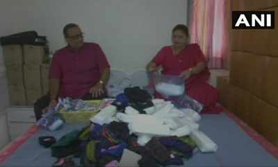 Gujarat: Surat's 'pad couple' distributes 5,000 sanitary napkins every month