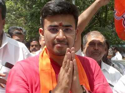 BJP's candidate from Bangalore South Tejasvi Surya accused of abuse; post allegations, woman deactivates Twitter account