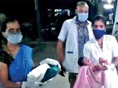 Covid-positive Surat woman gives birth to baby girl in 108 van