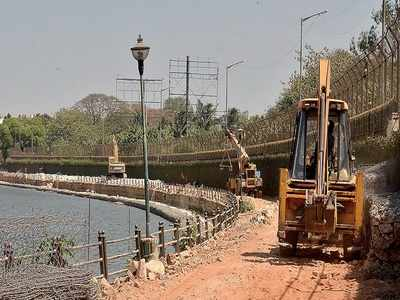 Jogging track to gulp over 4.54 crore litres