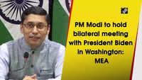 PM Modi to hold bilateral meeting with President Biden in Washington: MEA