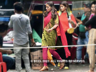 Bhumi Pednekar spotted in a new avatar