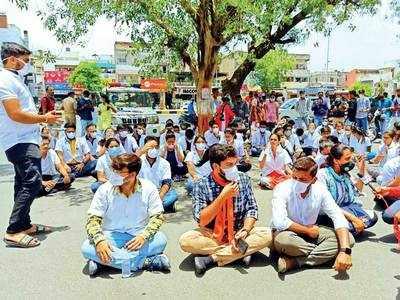Intern doctors seek safe isolation after duty