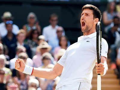 Novak Djokovic defeats Roberto Bautista Agut to play his fifth Wimbledon final on Sunday