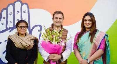Apsara Reddy becomes first transgender office bearer in Congress