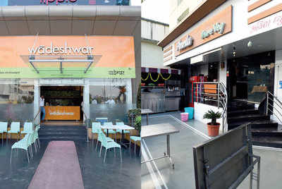 Eateries in parking space to face action, Chaturshringi traffic division sent notices to 25 restaurants