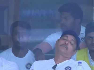 Twitter catches Ravi Shastri napping; responds with hilarious memes as India rout South Africa 3-0 in Test series