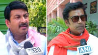 Manoj Tiwari, Ravi Kishan hail results of exit polls