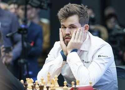 Magnus Carlsen Invitational: Magnus Carlsen beats Fabiano Caruana 3-1, takes the lead