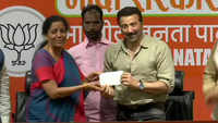 Now, Bollywood actor Sunny Deol joins BJP