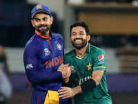 T20 World Cup: Pakistan break India jinx with 10-wicket rout
