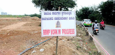 Land acquisition issues halt work on Varthur Road