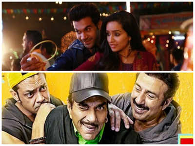 Stree vs Yamla Pagla Deewana Phir Se day four box office collection report: Shraddha Kapooor-Rajkummar Rao-starrer takes the lead over Dharmendra's comedy
