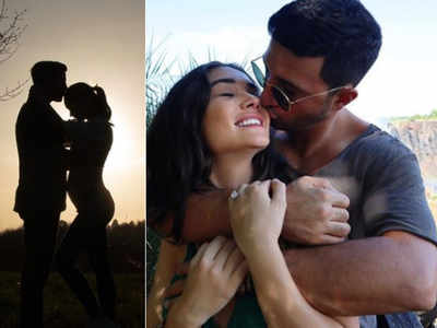 Amy Jackson announces pregnancy with an adorable Instagram post