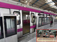 Technical snag hits Magenta Line of Delhi Metro