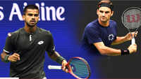 US Open: Sumit Nagal becomes 1st Indian to take a set off Roger Federer