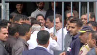 RSS defamation case: Rahul Gandhi appears before court, pleads not guilty