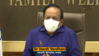 Harsh Vardhan holds meeting with Health Ministers of UP, AP, MP, and Gujarat