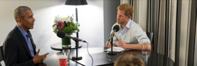 Watch: Prince Harry interviews Barrack Obama for radio show