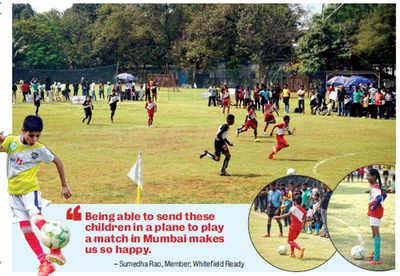 Students of government schools are getting a leg up, all thanks to Whitefielders